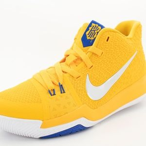 Nike Kyrie 3 Yellow Basketball Shoe Youth Size 6.5